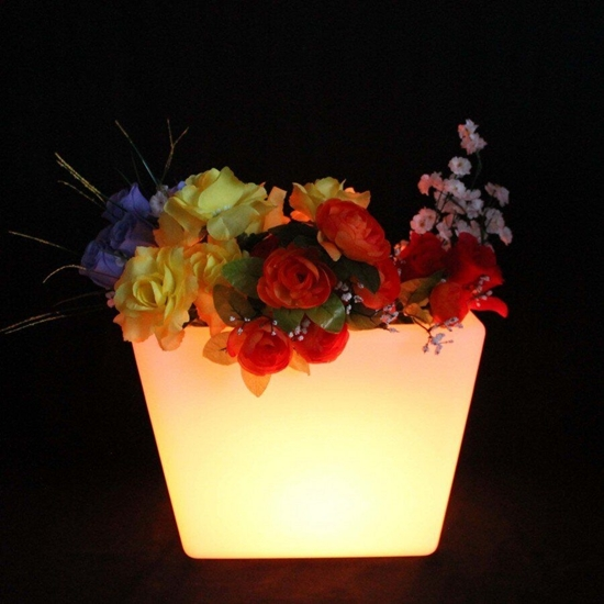 Picture of Glowing LED Flower Pot - 34 x 25 Cm
