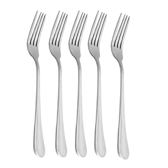Picture of Stainless Steel Dinner Fork, 6 Pcs - 20 Cm