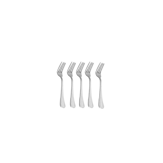 Picture of Stainless Steel Fork, 6 Pcs - 15 Cm