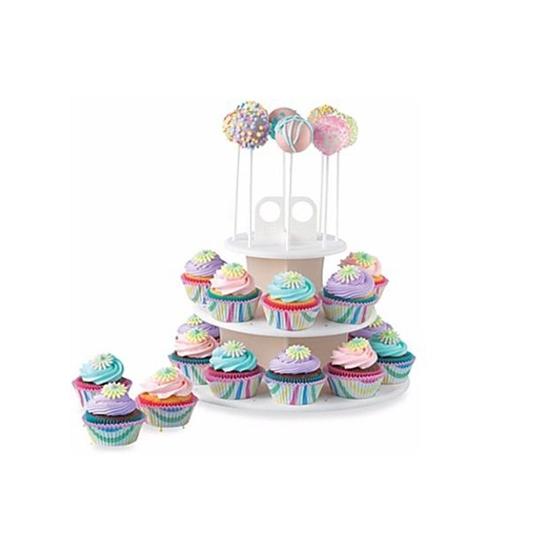 صورة Cake Pop & Cupcake Stand - 31 x 31 Cm