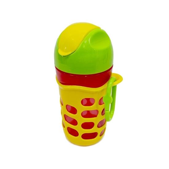 صورة زجاجة مياه للأطفال من الابلاستيك - 17 × 8 سم
