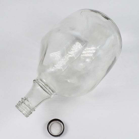 صورة Glass Jar Bottle -(Narrow Neck ) CM 14.5x9.5cm