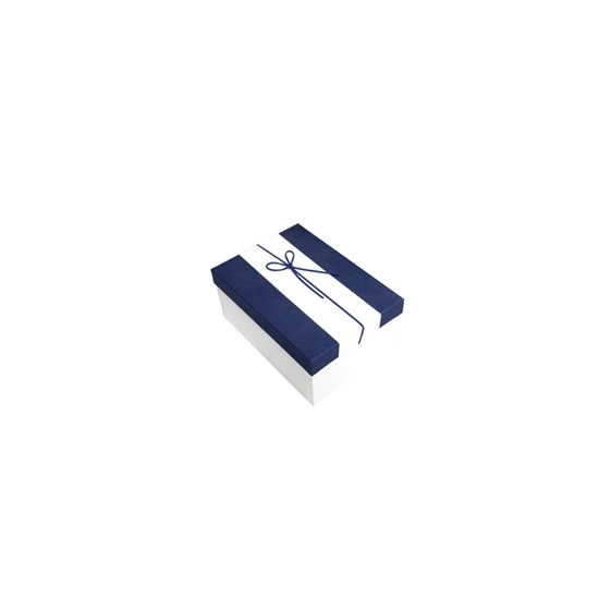 Picture of Blue & White Gift Box - 20 x 14 x 9 Cm