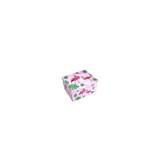 Picture of Flamingo Gift Box - 16 x 10 x 9 Cm