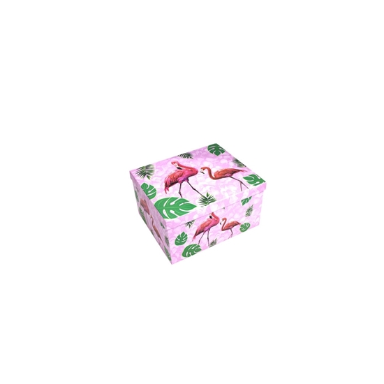 Picture of Flamingo Gift Box - 24 x 19 x 12 Cm