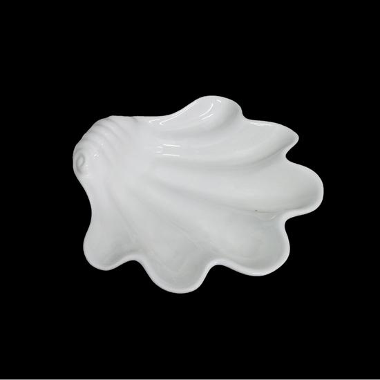 صورة طبق تقديم - أبيض 29 سم
