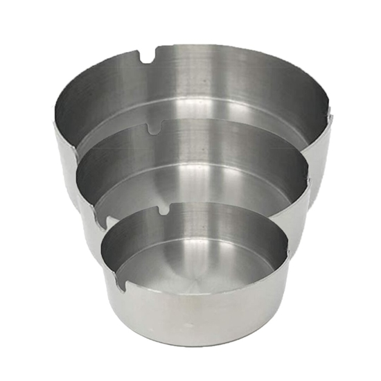 Picture of Stainless Steel Ashtray 3 Pieces