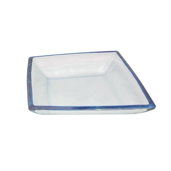 Picture of Glass Bowl with Blue Color - 40 x 5 Cm