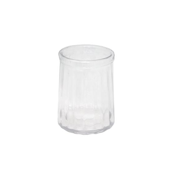 صورة مزهرية, زجاج شفاف -  قياس 20 × 15 سم