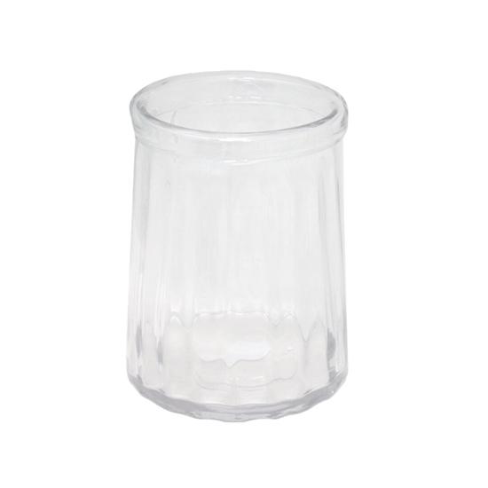 صورة مزهرية, زجاج شفاف -  قياس 25 × 17 سم