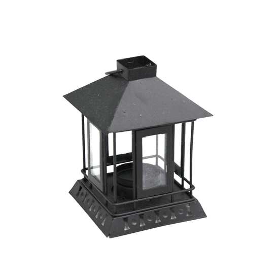 Picture of Iron Lantern Candle Holder - 13 x 9 Cm