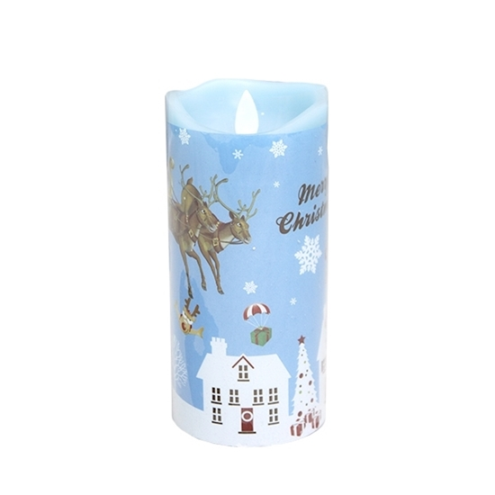 صورة CHRISTMAS LED CANDLE - 17.5 x 7.5 Cm