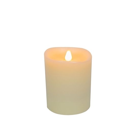 Picture of Led Battery Candle Moving Flame - 13.5 x 10 Cm