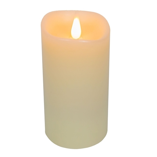 Picture of Led Battery Candle Moving Flame - 19 x 10 Cm