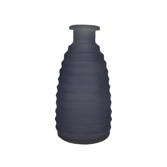 Picture of Blue - Frosted Glass Vase - 14 x 3.5 Cm
