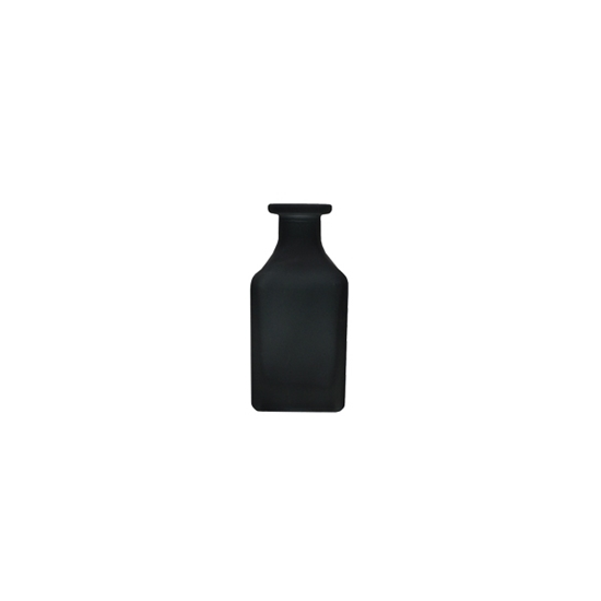 Picture of Black - Frosted Glass Vase - 12 x 4 Cm