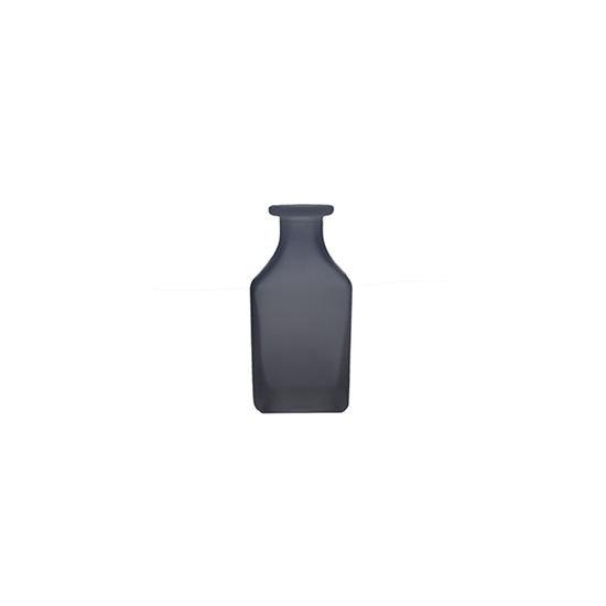 Picture of Blue - Frosted Glass Vase - 12 x 4 Cm