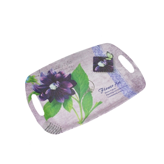 Picture of Printed Serving Melamine Tray - 43 x 29 Cm