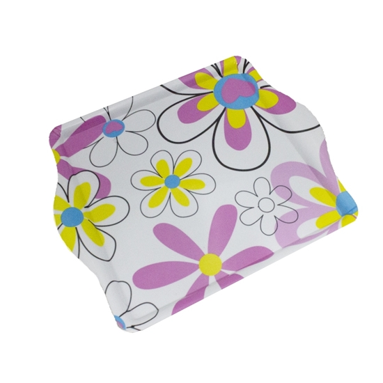 Picture of Printed Serving Melamine Tray - 36 x 42 Cm
