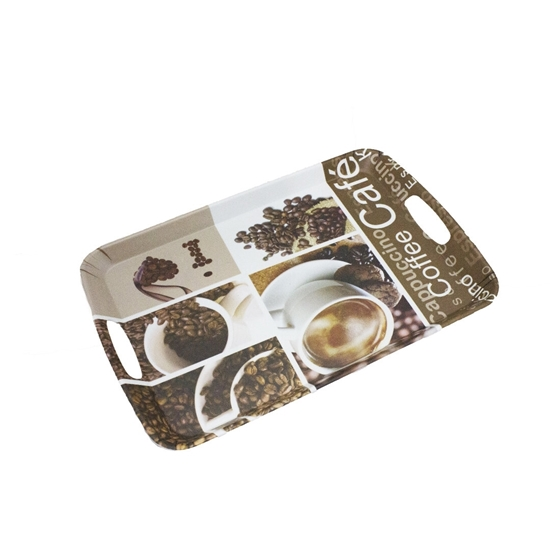 Picture of Printed Serving Melamine Tray - 42 x 28 Cm