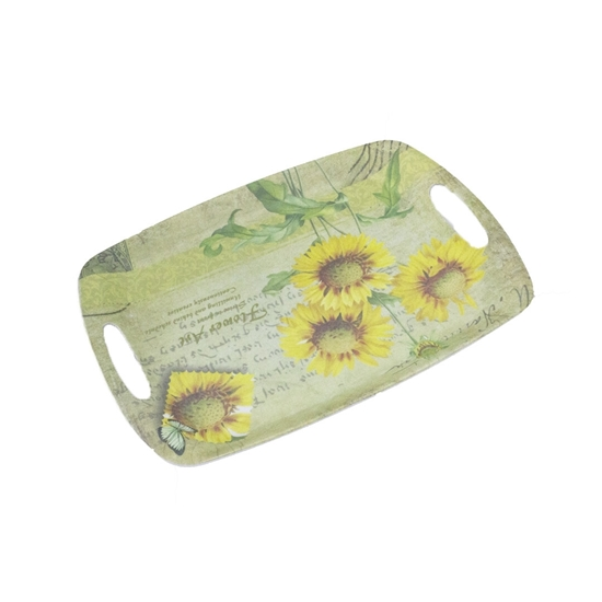 Picture of Printed Serving Melamine Tray - 38 x 26 Cm