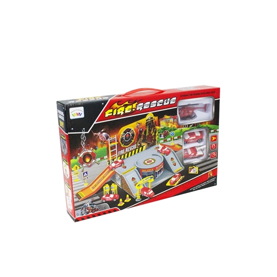 Picture of Fire Rescue Toy Play Set  - 19 Pcs