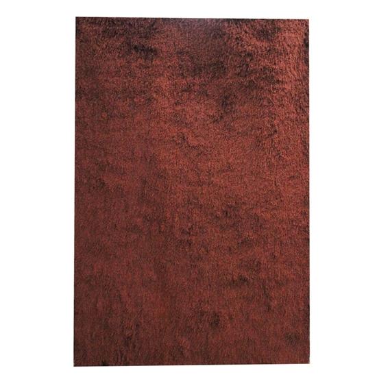 صورة سجّادة وبر طويل باللون البني قياس 160 × 230 سم