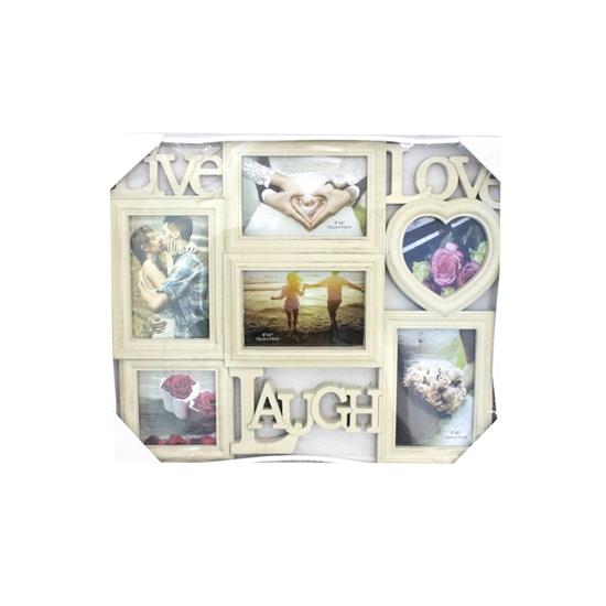 صورة  إطار كولاج لـ 6 صور - قياس 45 × 36 سم
