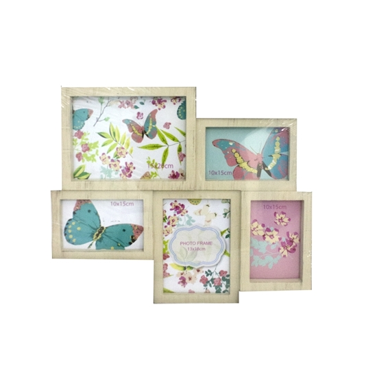 Picture of Collage frame for 5 photos - 44 x 37 Cm