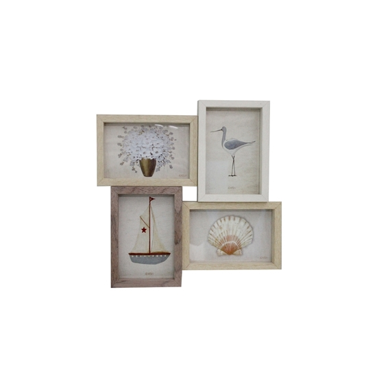 Picture of Collage frame for 4 photos - 30 x 30 Cm