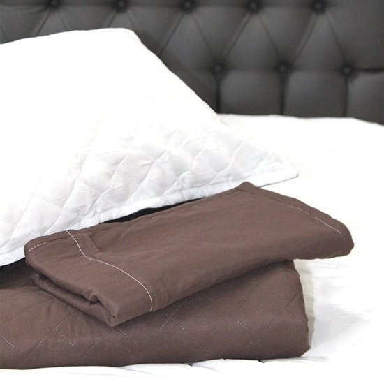 Picture of Polyester Reversible Bedspread - 250 x 270 Cm, Pillow: 50 x 80 Cm