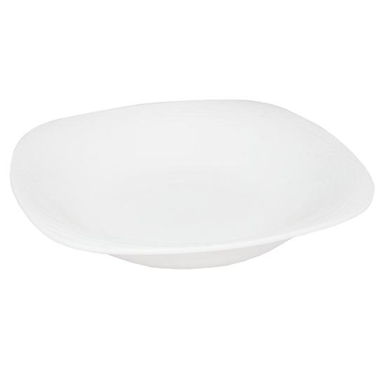 صورة طبق تقديم - أبيض