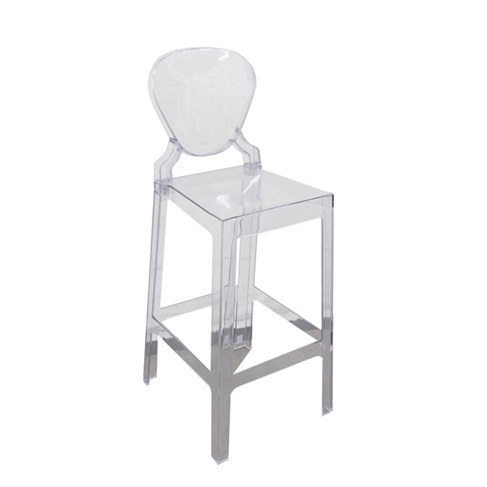 Picture of Transparent Acrylic Stool - 37 x 40 x 110 Cm