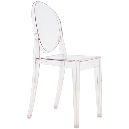 Picture of Transparent Acrylic Chair - 54 x 45 x 91 Cm