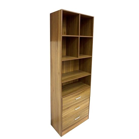 Picture of Beige Book Shelf - 60W x 30D x 180H Cm
