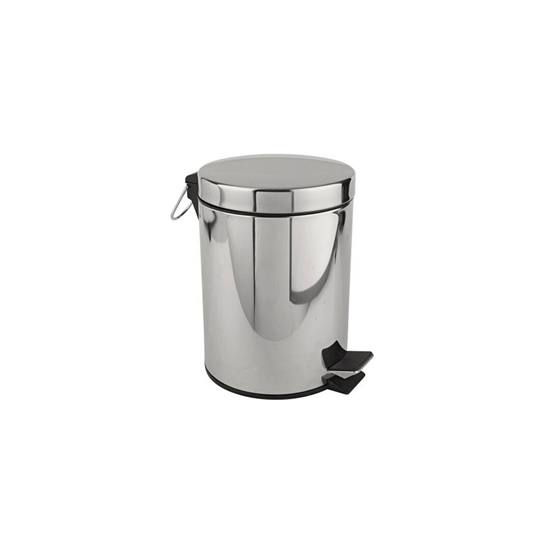 Picture of Stainless Steel Pedal Bin - 16 x 24 Cm