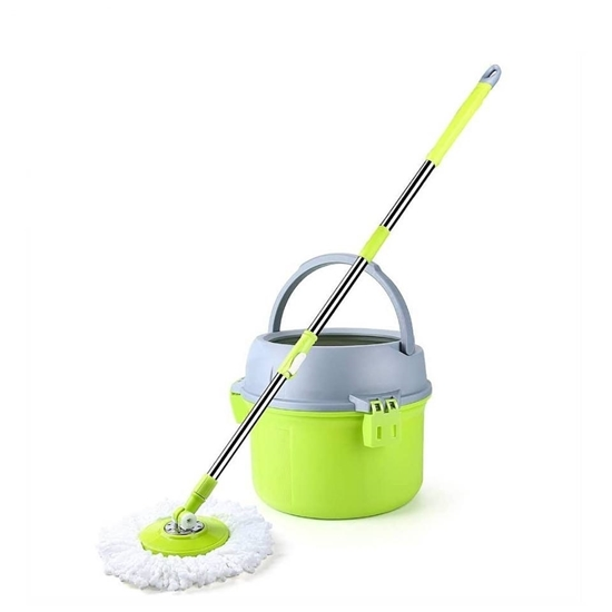 Picture of Clean Spin Mop & Round Bucket - 26 x 27 Cm