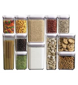 صورة لقسم تخزين وتنظيم الطعام