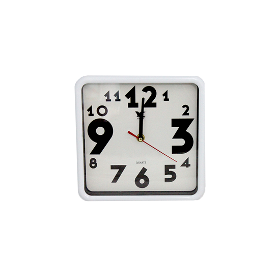 Picture of Square Wall Clock - 22 Cm