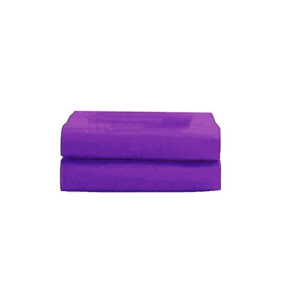 Picture of Queen - Cotton & Polyester Dark Purple Duvet Cover - 200 x 220 Cm