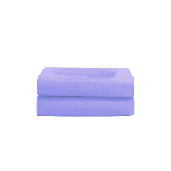 Picture of King - Cotton & Polyester Light Purple Duvet Cover - 260 x 220 Cm