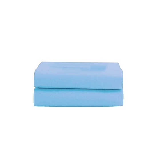 Picture of King - Cotton & Polyester Light Blue Duvet Cover - 260 x 220 Cm