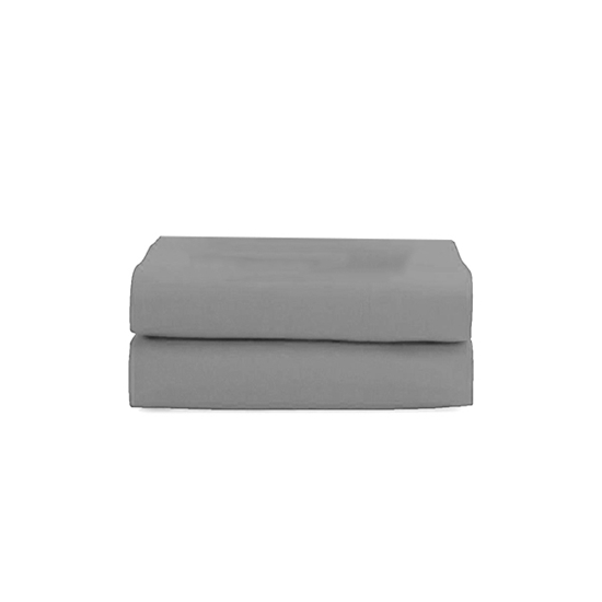 Picture of King - Cotton & Polyester Grey Flat Sheet - 260 x 275 Cm