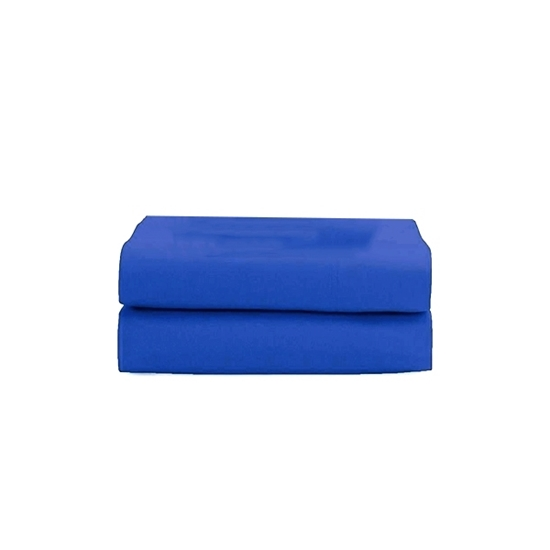 Picture of King - Cotton & Polyester Dark Blue Flat Sheet - 260 x 275 Cm