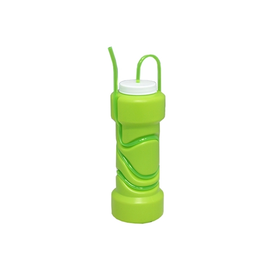 Picture of Plastic Cup with Straw - 21 x 8 Cm