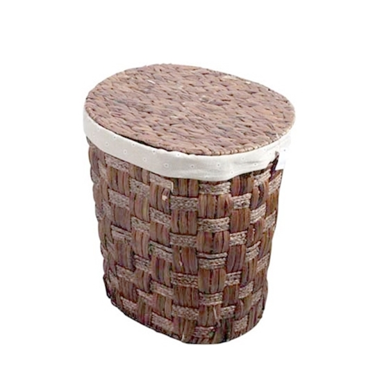 Picture of Laundry Basket with Lid - 33 x 33 x 47 Cm