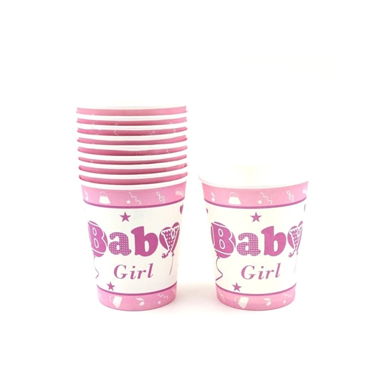 Picture of Baby Girl Paper Cup