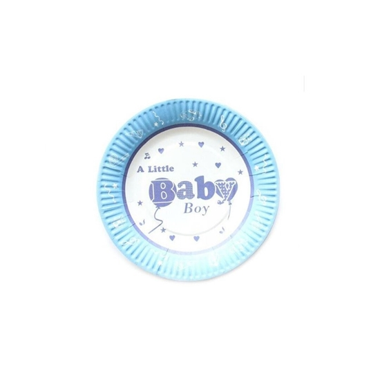 Picture of Baby Boy Girl Paper Plate PAPER PLATE
