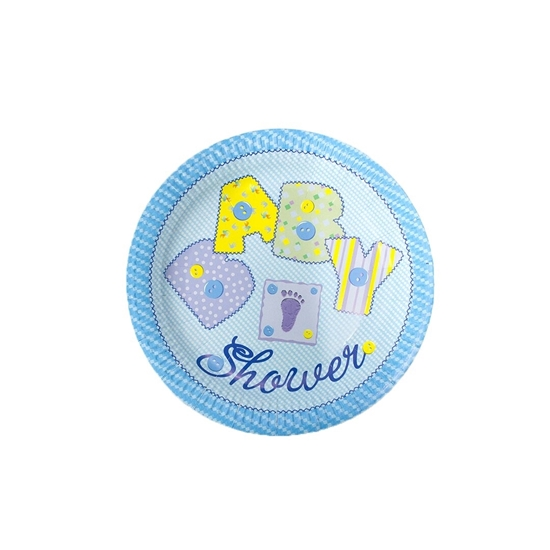 Picture of Baby Shower Paper Plate PAPER PLATE