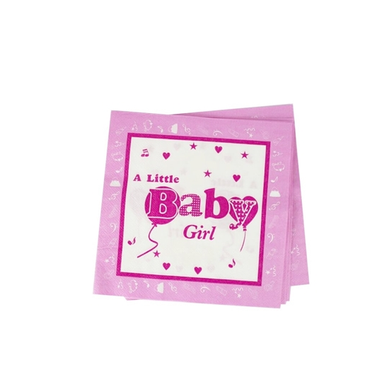 Picture of Baby Girl Napkins